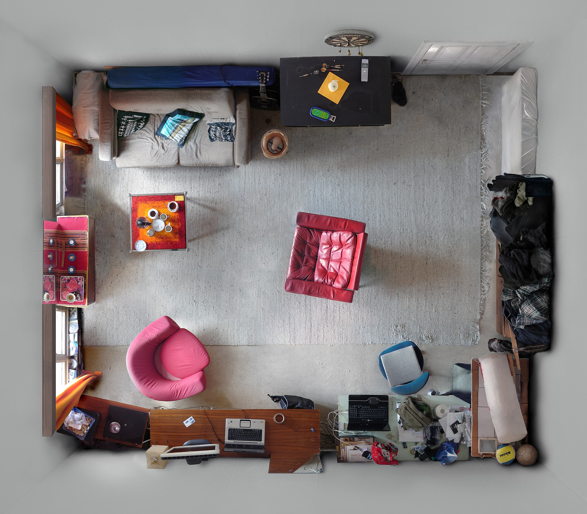 Untitled (M.O.) 2007, 110 x 127 cm (43 x 50 in.)