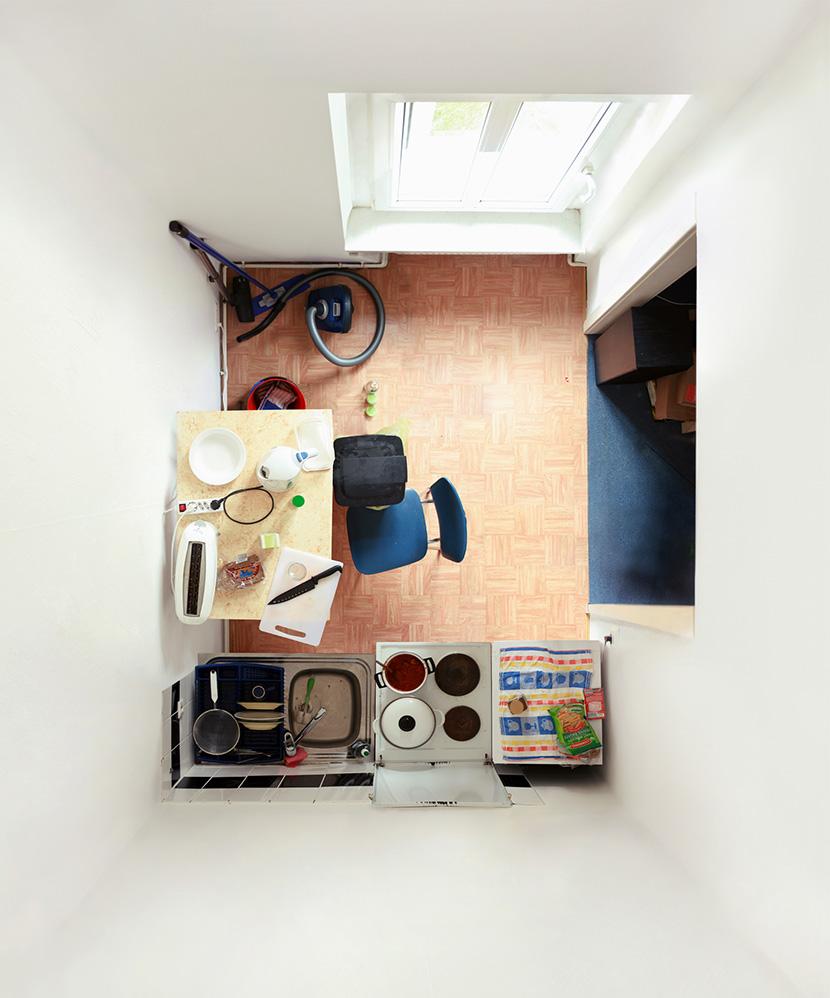 Untitled (Kitchen I) 2008, 108 x 90 cm (43 x 36 in.)