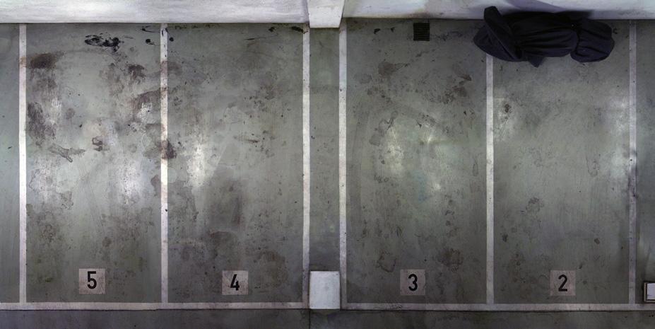 Untitled (Basement Garage) 2008, 60 x 120 cm (39 x 47 in.)