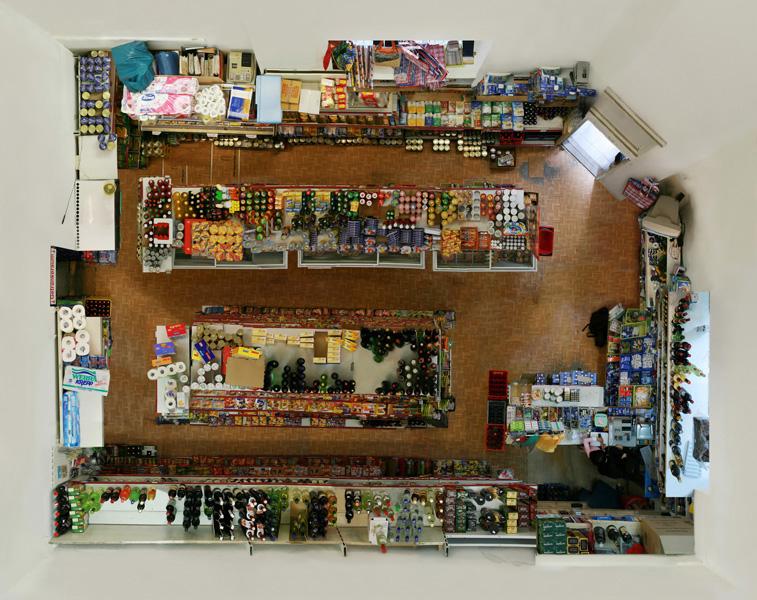 Untitled (Corner Shop) 2008, 140 x 176 cm (55 x 69 in.)