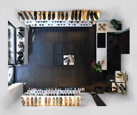 Untitled (Shoe Shop) 2009, 100 x 118 cm (39 x 47 in.)