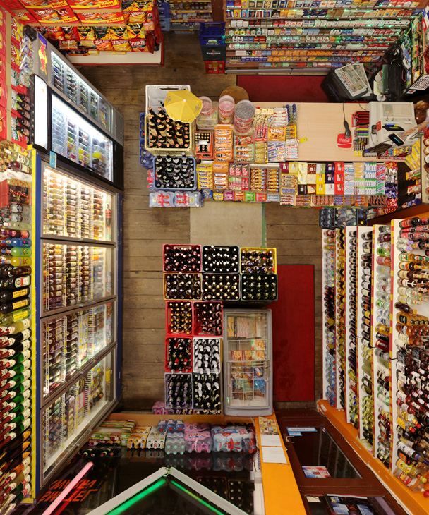 Untitled (Corner Shop II) 2017, 120 x 100 cm (47 x 39 in.)