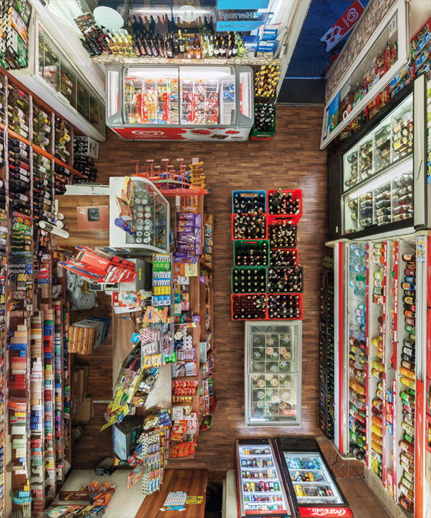 Untitled (Corner Shop III) 2017, 120 x 100 cm (47 x 39 in.)
