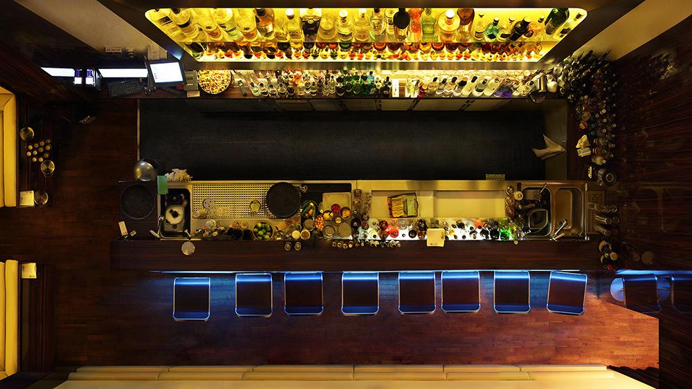 Untitled (Bar) 2011, 90 x 160 cm (35 x 63 in.)