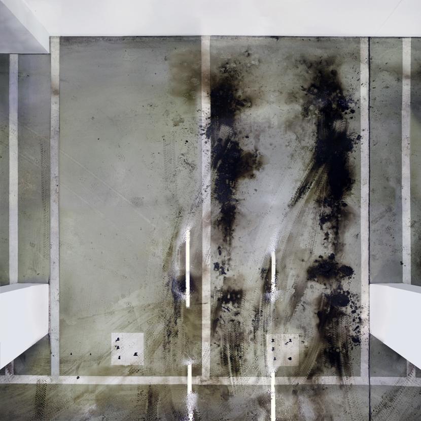 Untitled (Basement III) 2011, 110 x 110 cm (43 x 43 in.)