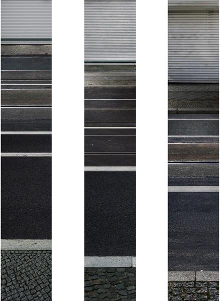 Untitled (T & F IV) 2009/10 each 130 x 22 cm (51 x 9 in.)