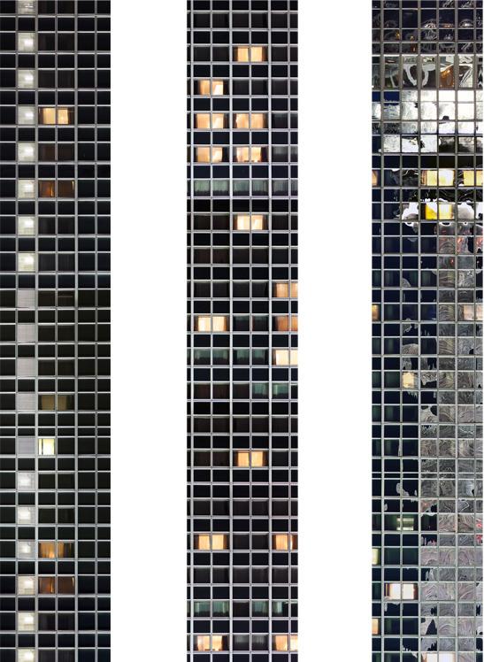 Untitled (Windows) 2012 each 130 x 22 cm (51 x 9 in.)