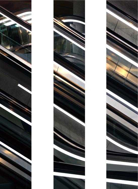 Untitled (Escalator), 2012 each 130 x 22 cm (51 x 9 in.)