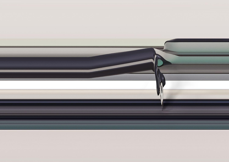 YuMi IRB 14000 07, 2020, 30 x 40 cm (11.8 x 15.7 in.)