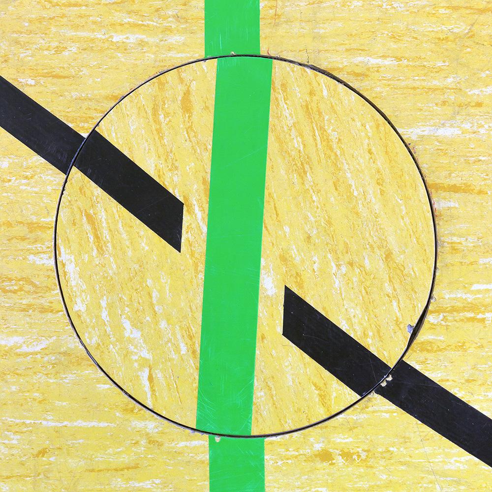 Untitled (Composition 03), 2016  30 x 30 cm (11.8 x 11.8
