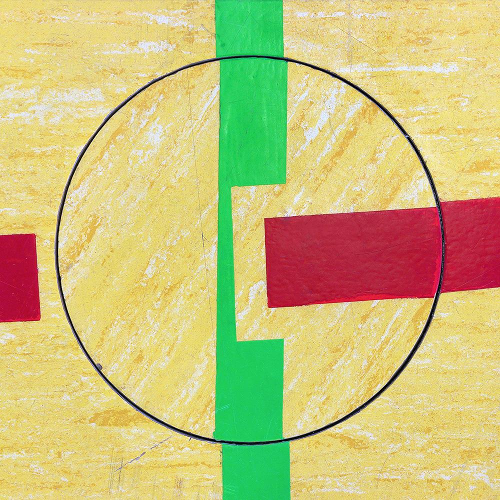Untitled (Composition 04), 2016  30 x 30 cm (11.8 x 11.8