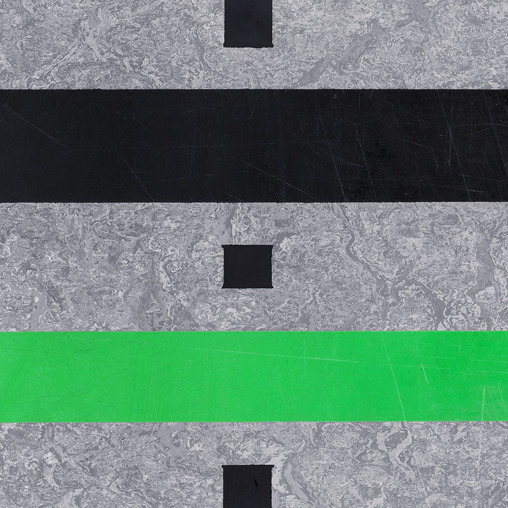 Untitled (Composition 18), 2017 30 x 30 cm (11.8 x 11.8