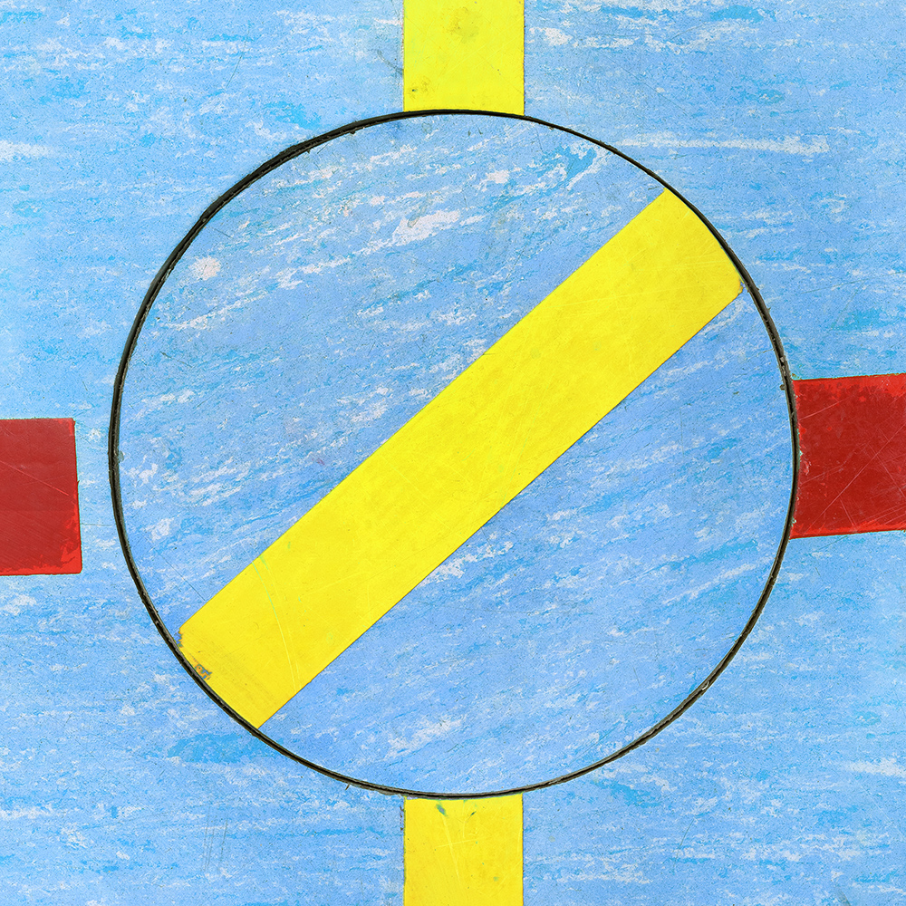 Untitled (Composition 30), 2017/18  30 x 30 cm (11.8 x 11.8