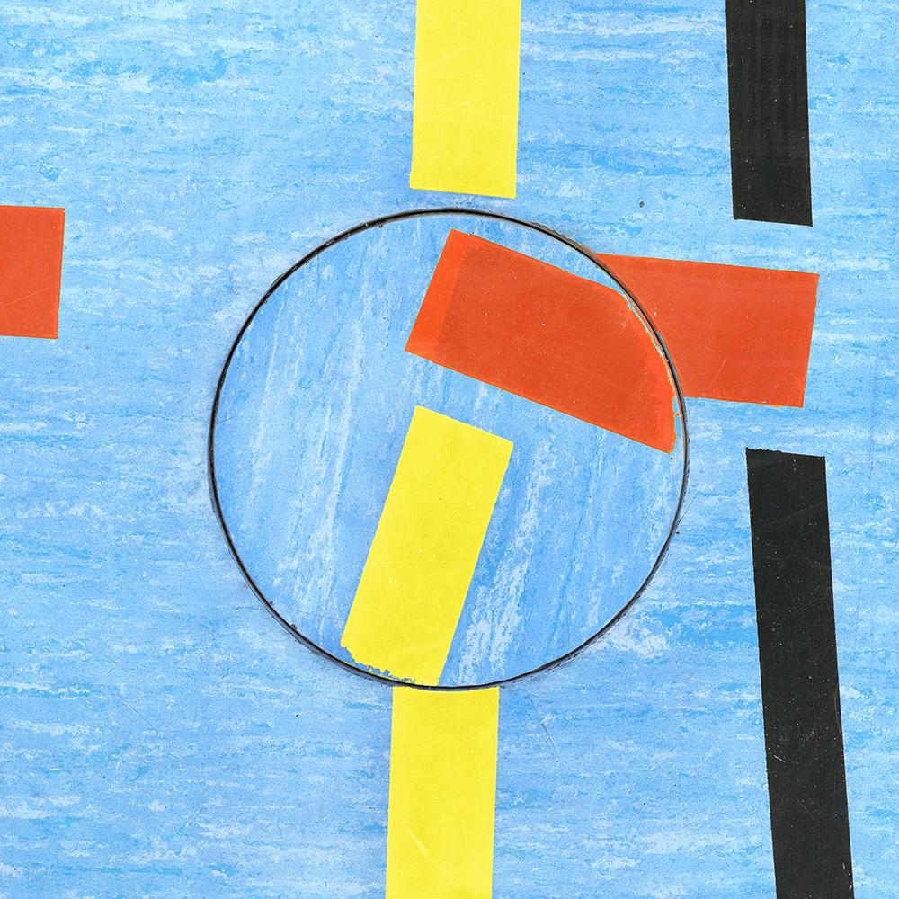 Untitled (Composition 35), 2017/18  30 x 30 cm (11.8 x 11.8