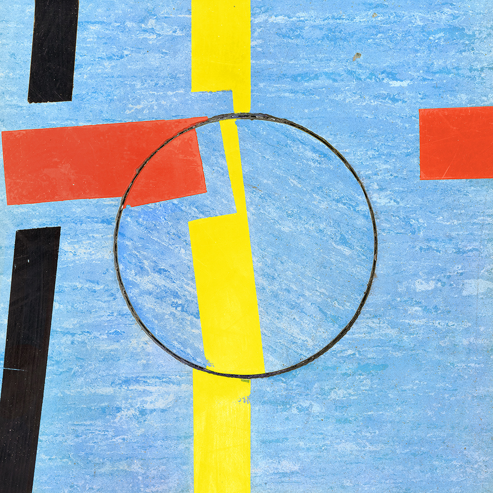 Untitled (Composition 36), 2017/18  30 x 30 cm (11.8 x 11.8